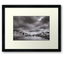 St Patrick's Bridge, Cork, Ireland Framed Print