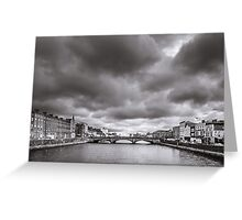 St Patrick's Bridge, Cork, Ireland Greeting Card