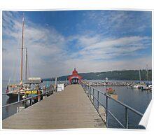 Seneca Harbor Pier Poster