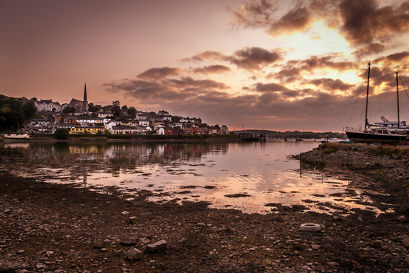 Crosshaven Evening in Co Cork by Donncha O Caoimh