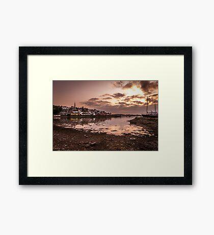 Crosshaven Evening in Co Cork Framed Print
