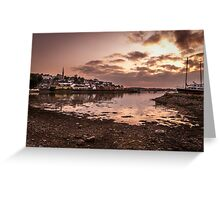 Crosshaven Evening in Co Cork Greeting Card