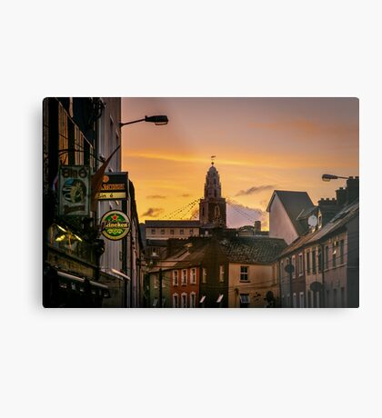 Shandon Bells from Afar Metal Print