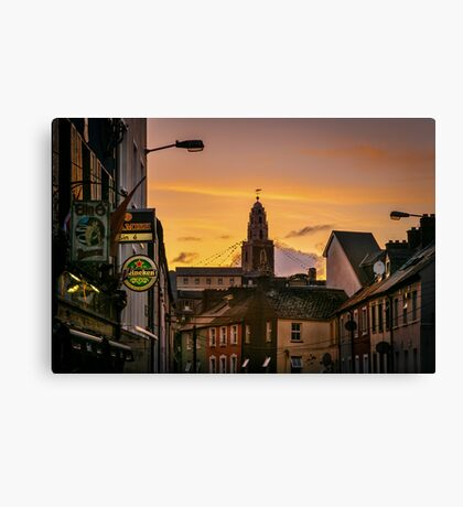 Shandon Bells from Afar Canvas Print