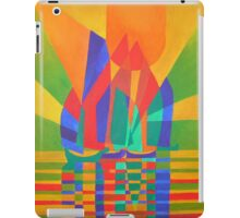 Dreamboat - Cubist Junk In Primary Colors iPad Case/Skin