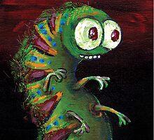 Happy Caterpillar by Tristan Klein