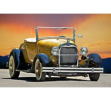 1929 Ford 'Rumble Seat' Roadster Photographic Print