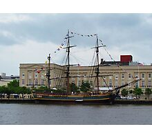 Pirates of the Caribbean Ship Photographic Print