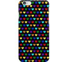 8-bit Hearts iPhone Case/Skin
