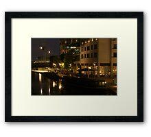 Boats in Little Venice Framed Print