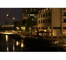 Boats in Little Venice Photographic Print
