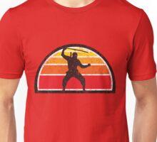 Vintage Ninja Sunset Unisex T-Shirt