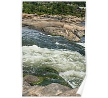 The James River Current Poster