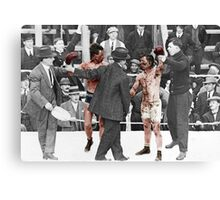 Ray Campbell vs Dick Hyland 3rd May, 1913 Canvas Print