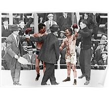 Ray Campbell vs Dick Hyland 3rd May, 1913 Poster