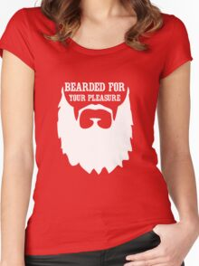 Bearded for your pleasure Women's Fitted Scoop T-Shirt