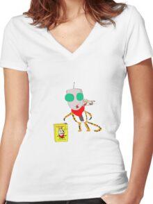 Tony the TiGir Women's Fitted V-Neck T-Shirt