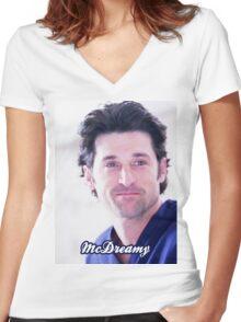 Derek McDreamy Women's Fitted V-Neck T-Shirt