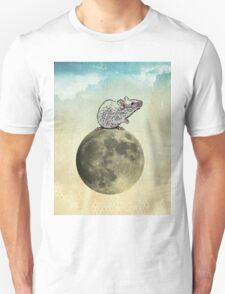 Tiny and the cheese moon Unisex T-Shirt