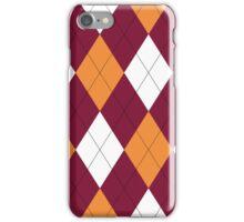 Virginia Tech Argyle iPhone Case/Skin