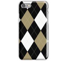 Wake Forest Argyle iPhone Case/Skin