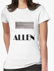 Woody Allen t-shirt Womens Fitted T-Shirt