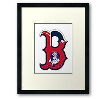Boston Patriots  Framed Print