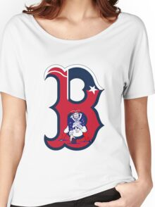 Boston Patriots  Women's Relaxed Fit T-Shirt