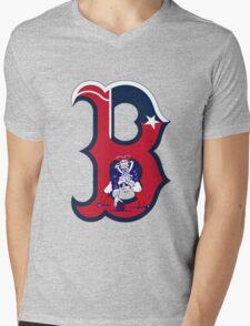 Boston Patriots  Mens V-Neck T-Shirt