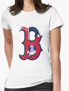Boston Patriots  Womens Fitted T-Shirt