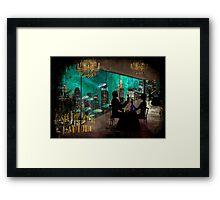 """""""Vintage"""" Bioshock Travel Ad Framed Print"""