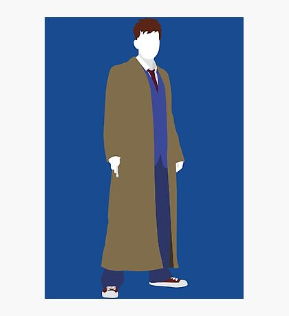 The Tenth Doctor - Doctor Who - David Tennant Photographic Print