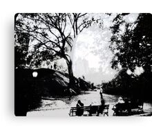 Central Park Structured Canvas Print