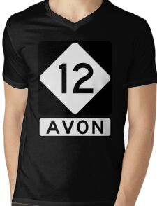 NC 12 - Avon Mens V-Neck T-Shirt