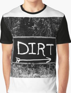 Rural Area Sign Graphic T-Shirt