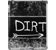 Rural Area Sign iPad Case/Skin