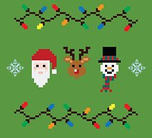 Pixel Christmas Medley by Claire Belyea