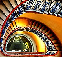 Courtauld Gallery Staircase II by Ludwig Wagner