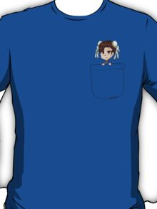 Pocket Chun Li T-Shirt