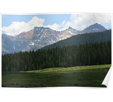 BEAUTY OF THE ROCKY MOUNTAINS Poster