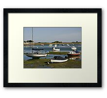 View from Emsworth harbour Framed Print