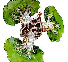 baobab from the little prince by amitkis
