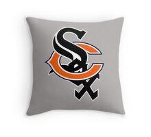 Bear Sox Throw Pillow