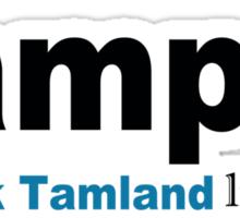 Lamp - Brick Tamland Likes This Facebook Thumbs Up Mens White Sticker