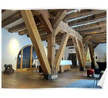 Wooden Structure Poster