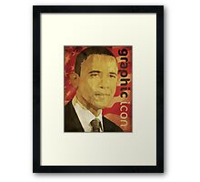 Graphic Icon Framed Print
