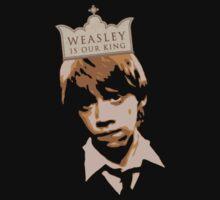 Weasley is Our King Kids Tee