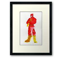 Condiment Man Framed Print