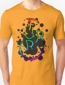Furry shirt - Rainbow T-Shirt