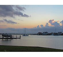 Wrightsville Beach At Dusk Photographic Print